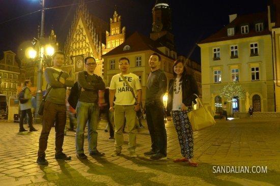 Jadi bule di Wroclaw