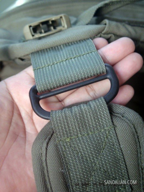 rop shoulder straps