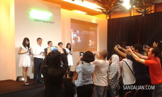 the launching of acer phablet liquid s1